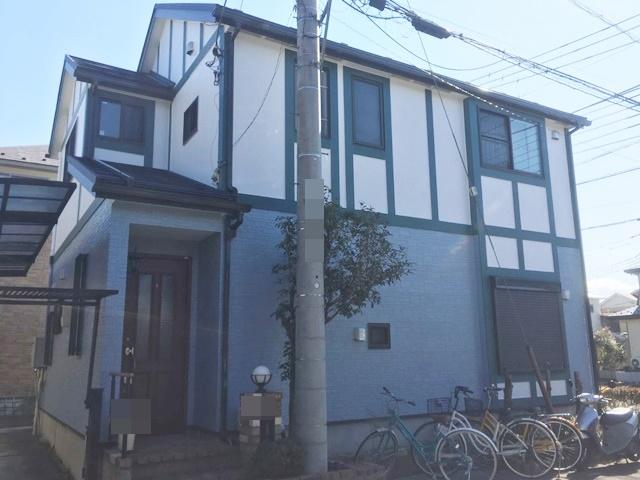 越谷市大道 U様邸 外壁塗装・屋根改修リフォーム