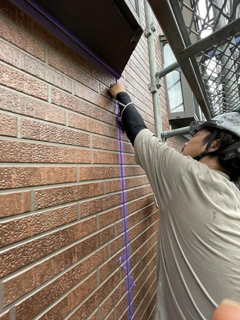 外壁塗装・越谷市・外壁補修