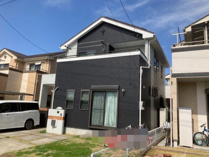 吉川市 A様邸 外壁塗装リフォーム