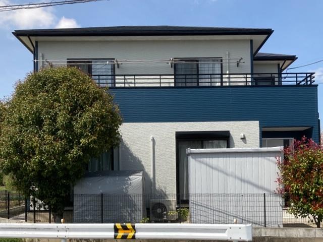 越谷市三野宮 K様邸 外壁塗装・屋根塗装リフォーム